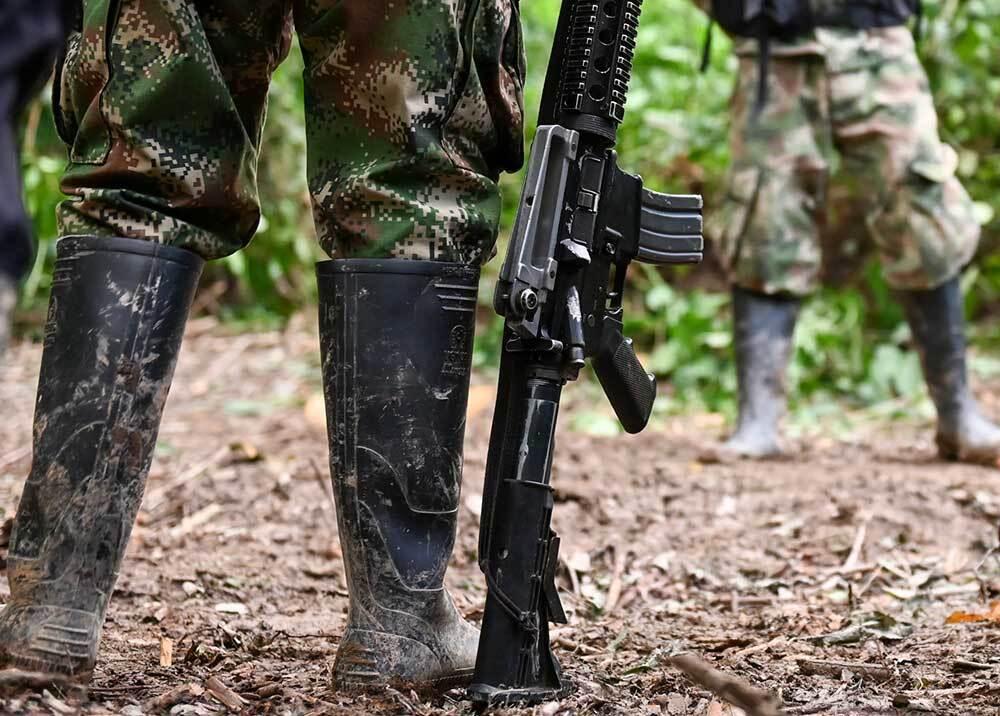 350924_Grupos ilegales // Foto: AFP, imagen de referencia