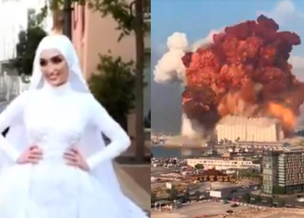 24328_Boda en Beirut // FOTO: Fotocaptura Twitter - Youtube