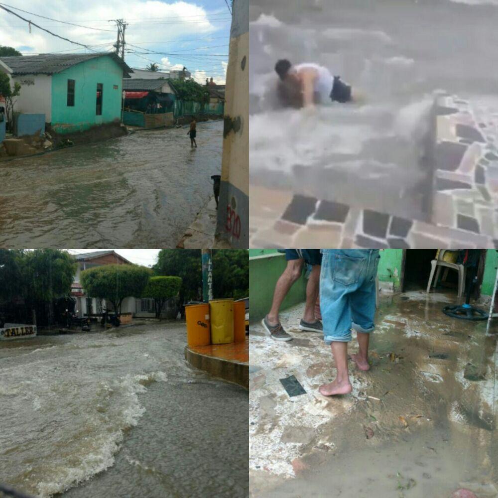 290210_Blu Radio/ Emergencia por arroyos en Barranquilla. Foto: BLU Radio