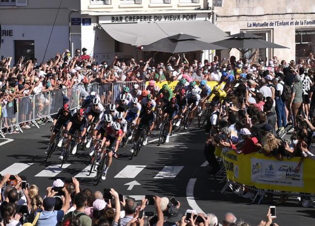 Tour de Francia. Foto: AFP