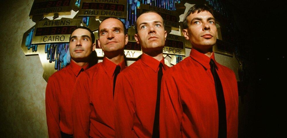 646865_Kraftwerk en 1981. Foto: Koh Hasebe/Shinko Music . Getty Images.