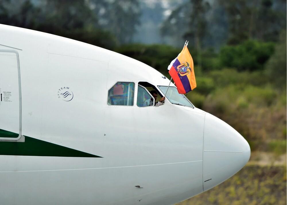 Avión presidencial Ecuador Foto referencia AFP.jpg