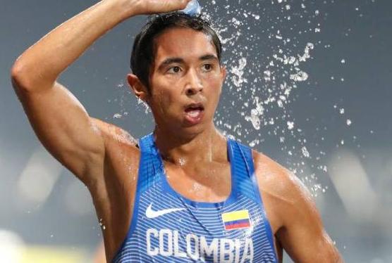 Alexander Castañeda representará a Colombia en los Juegos Olímpicos de Tokio 2020.