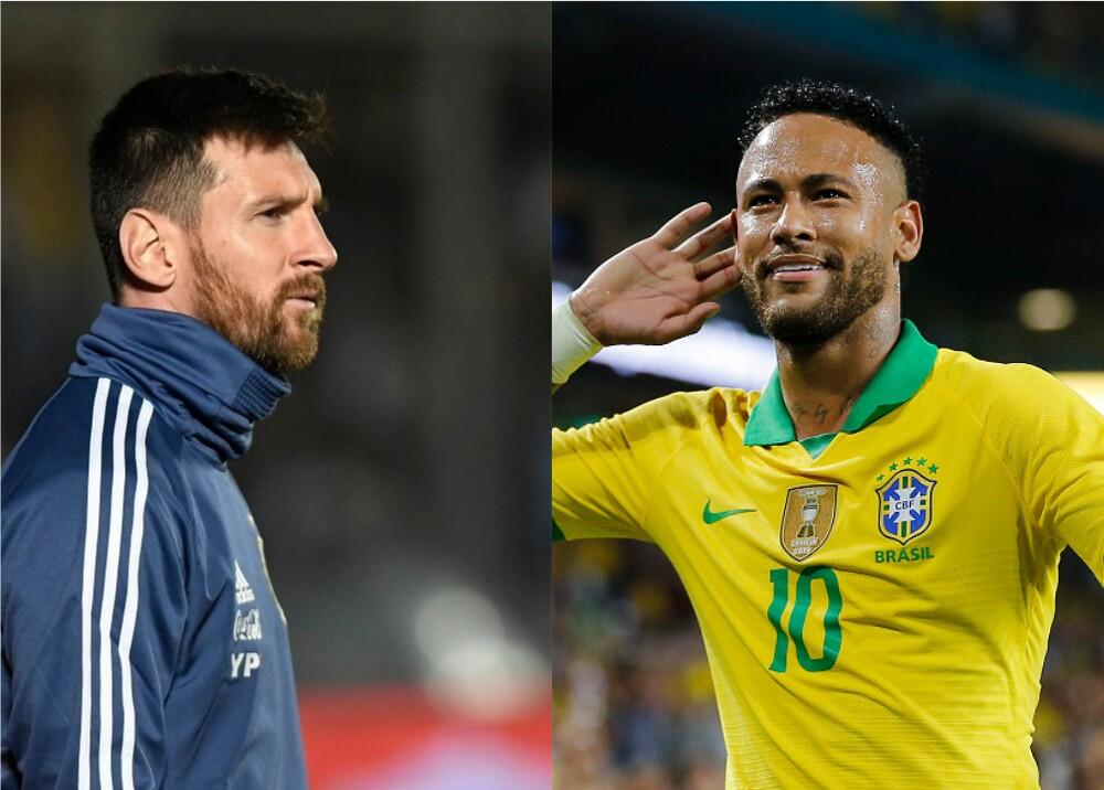 345836_BLU Radio. Messi - Neymar. Foto: AFP