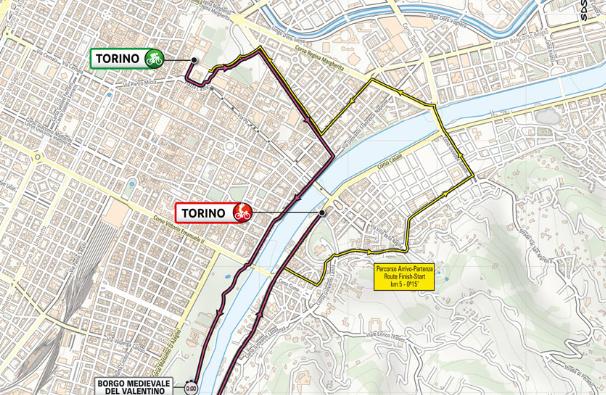 El Giro de Italia 2021 inicia con una contrarreloj individual de 8.6 kilómetros.