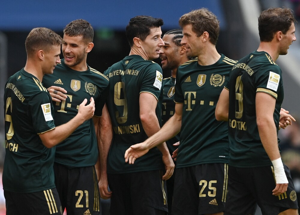 Bayern Múnich aplastó 7-0 al Bochum Lewandoswki anotó y logró nueva marca Foto AFP.jpg