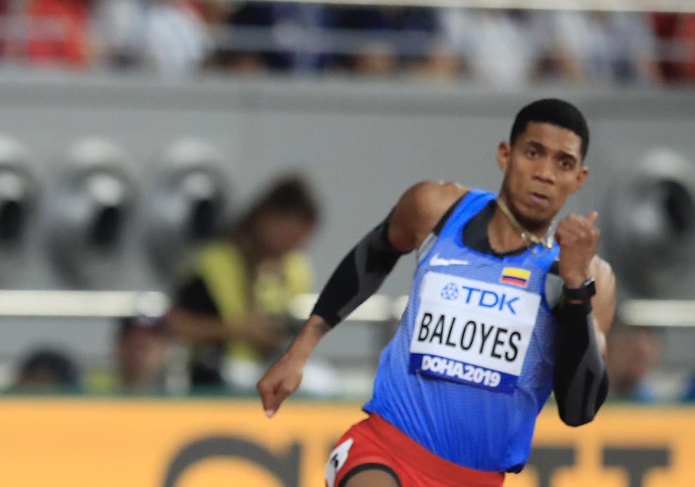 Bernardo Baloyes no pudo disputar los 200 metros en los Juegos Olímpicos Tokio 2020