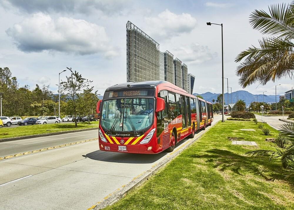 336500_BLU Radio. Bus de Transmilenio // Foto: Secretaría de Movilidad