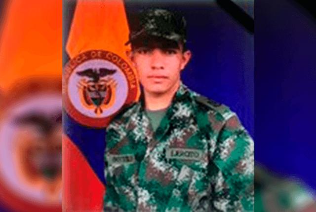 Ómar Botello Sánchez, soldado que murió en Ituango. Foto: Cortesía Ejército