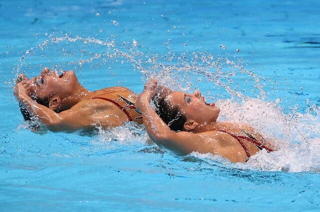 Estefanía Álvarez y Mónica Arango, en los Juegos Olímpicos de Tokio 2020