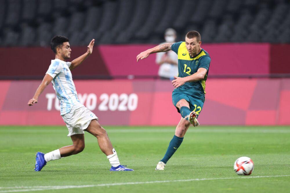 Argentina v Australia: Men's Football - Olympics: Day -1