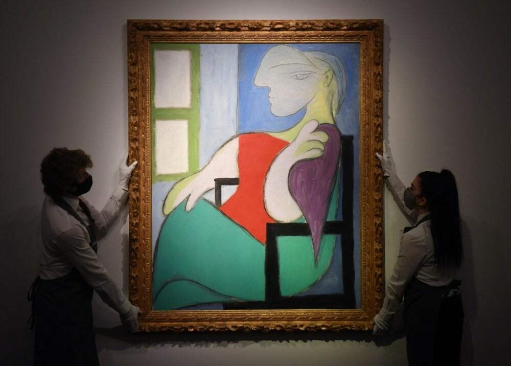 Mujer sentada junto a una ventana (Marie-Therese) de Picasso Foto AFP.jpg