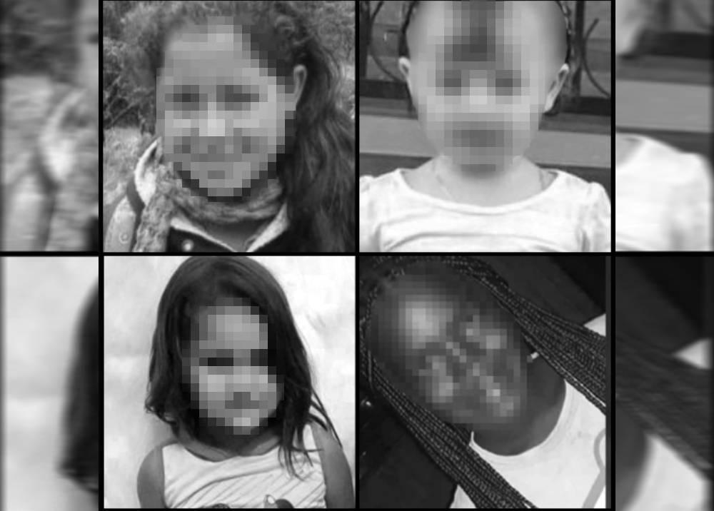 Menores de edad víctimas de violencia en los últimos días