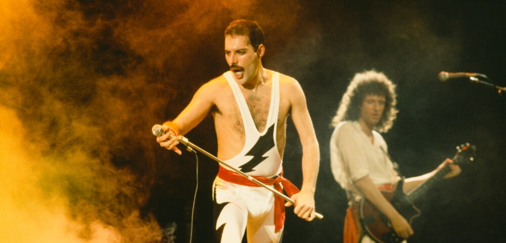 Queen. Dave Hogan Hulton. Archive: Getty Images