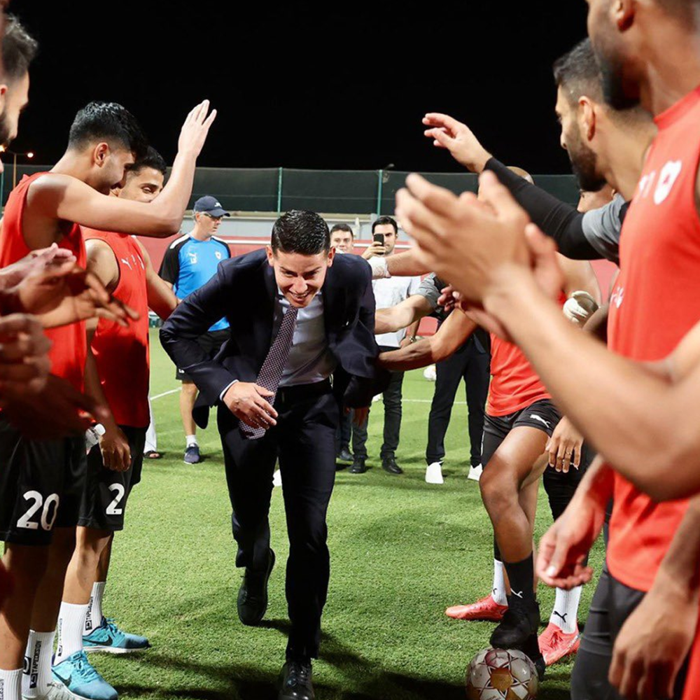 James Rodríguez, nuevo jugador de Al-Rayyan.png