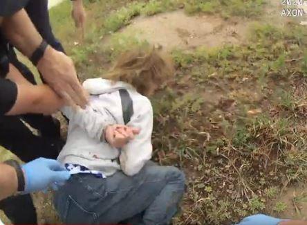 denuncian abuso policial contra mujer que tiene demencia