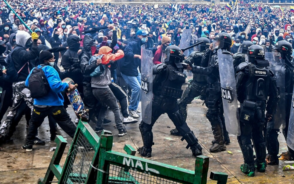 Protestas marchas en Colombia y Bogotá AFP (2).jpeg