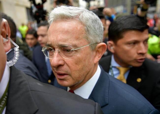 371698_Álvaro Uribe // Foto: AFP