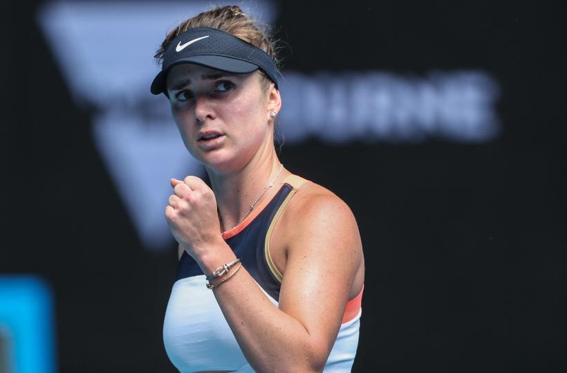 Elina Svitolina clasificó a octavos de final del Abierto de Australia.