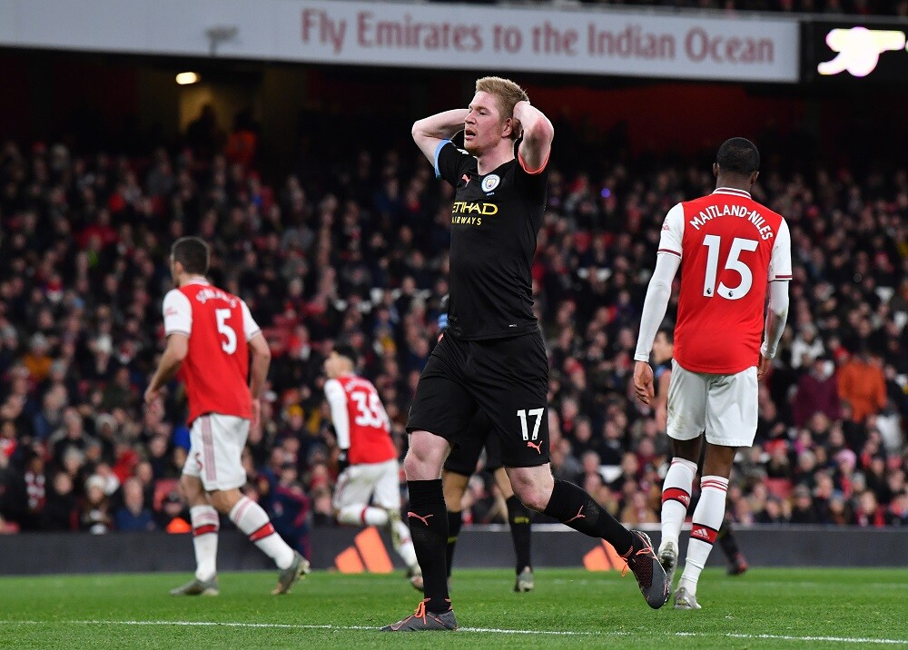 357600_Manchester City vs Arsenal / Foto: AFP