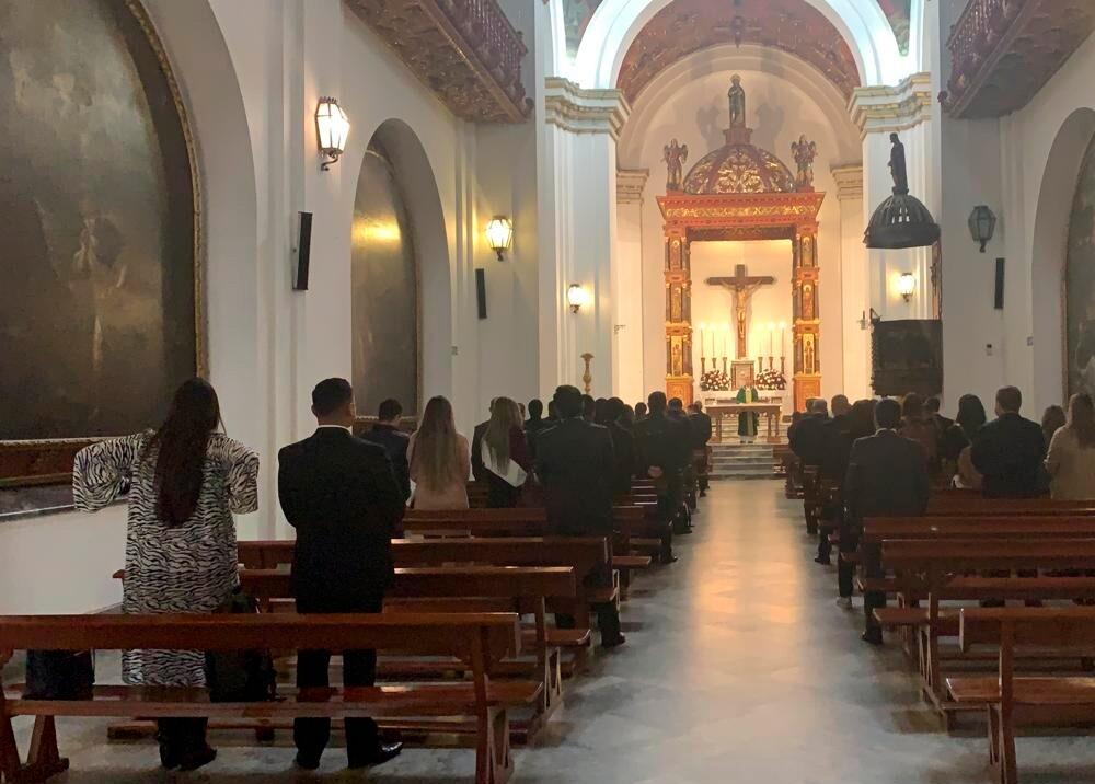 345298_Misa en la iglesia El Sagrario sobre la Plaza de Bolívar con integrantes del Centro Democrático // Foto: BLU Radio
