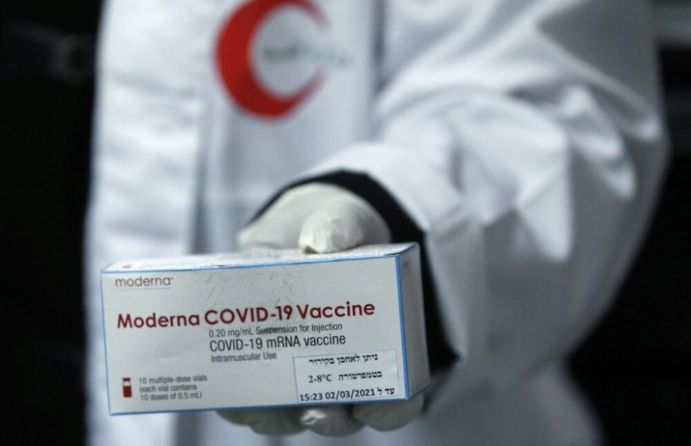 Vacuna de Moderna. Foto AFP