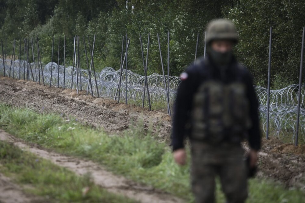 Frontera Polonia con Bielorrusia
