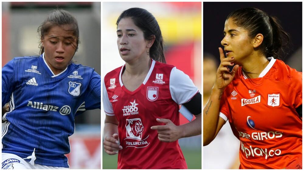 Liga del fútbol femenino colombiano.