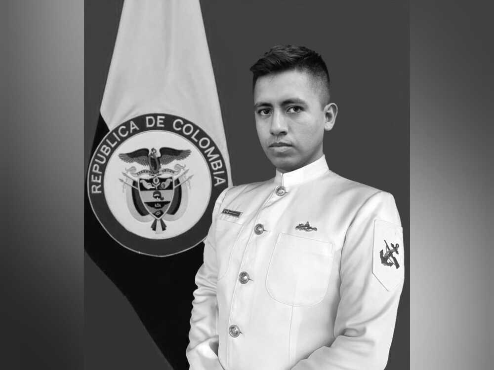 Suboficial de la Armada, Omar Poveda, fallecido en un ataque en Riosucio, Chocó..jpeg