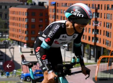 Esteban Chaves ocupó el puesto 89 en la contrarreloj de la Vuelta al País Vasco.