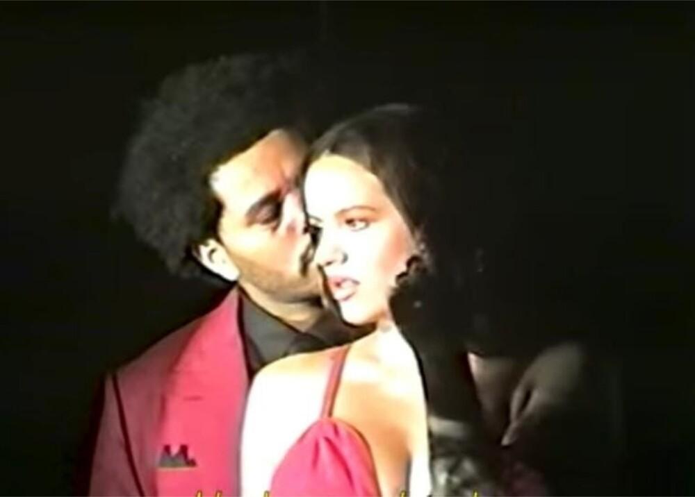 Rosalía y The Weeknd 'Blinding lights foto captura video.jpeg