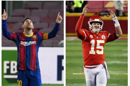 Lionel Messi y Patrice Mohomes.