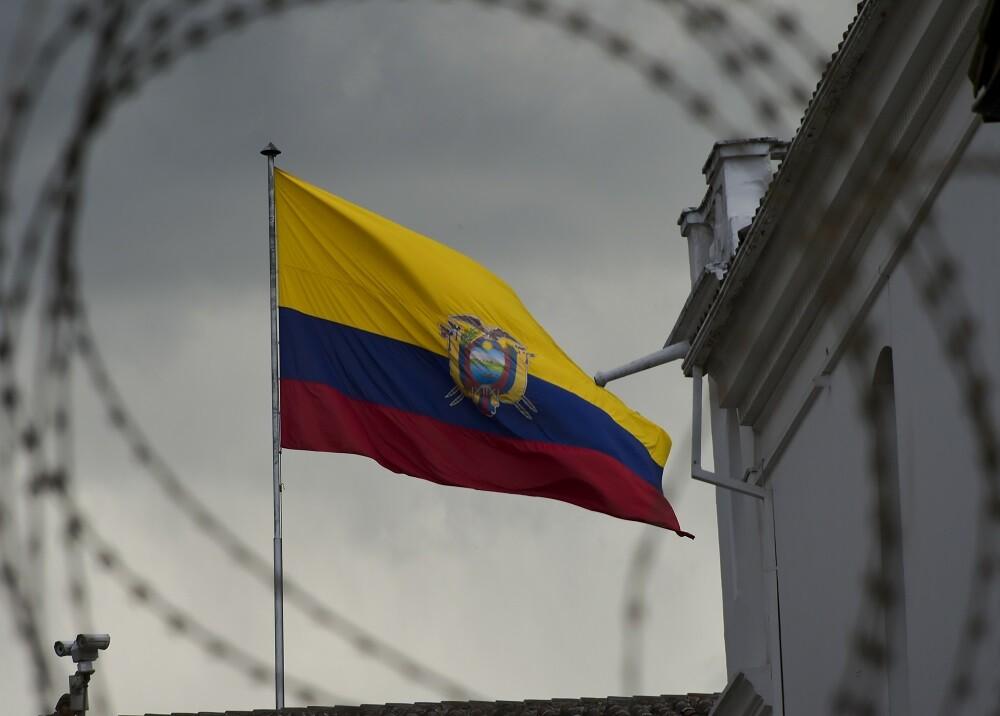 356613_BLU Radio. Bandera de Ecuador / Foto: AFP
