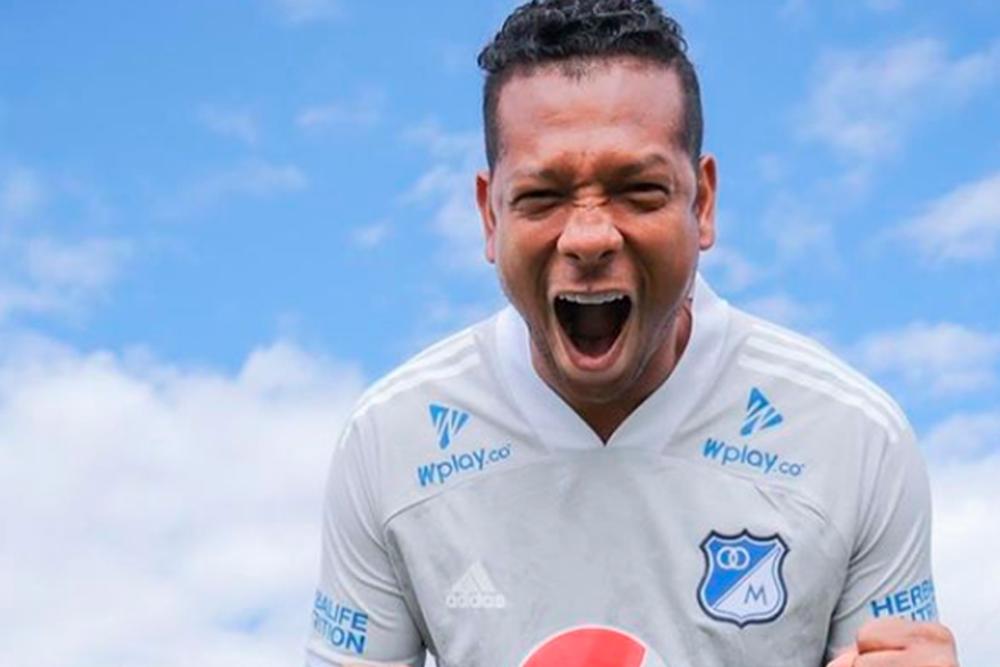 Fredy Guarín, jugador de Millonarios. Foto Fredy Guarín Oficial.png