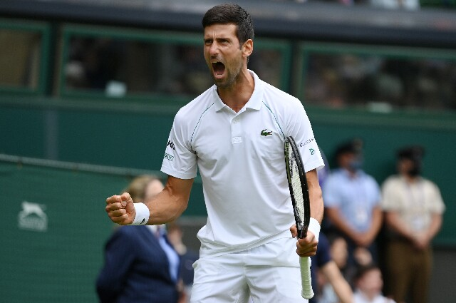 Novak Djokovic, en Wimbledon