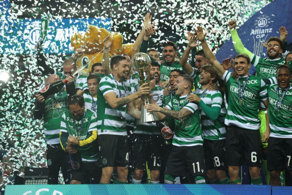 Sporting de Lisboa, campeón en Copa de la Liga