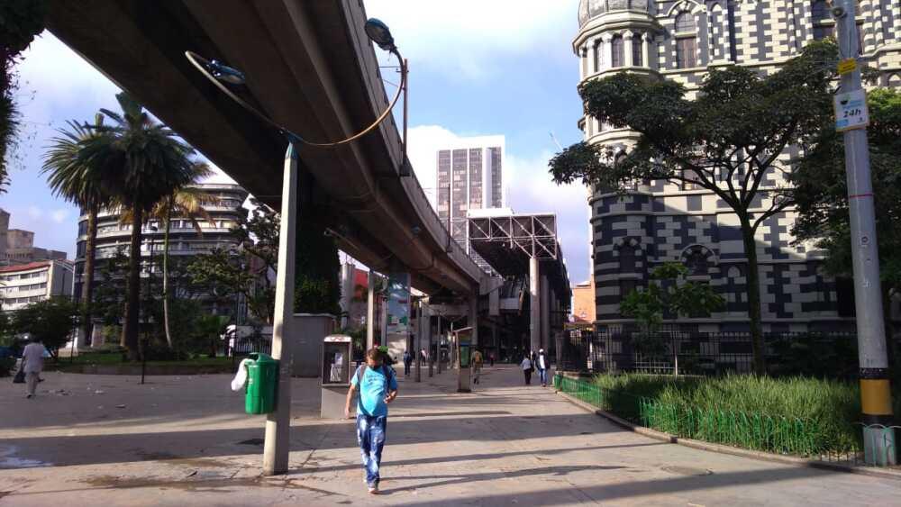 370838_BLU Radio // Cuarentena centro de Medellín // Fotos: BLU Radio.