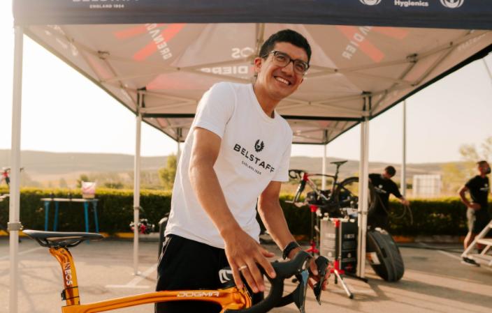 Richard Carapaz será uno de los líderes del Ineos Grenadiers en la Vuelta a España 2021.