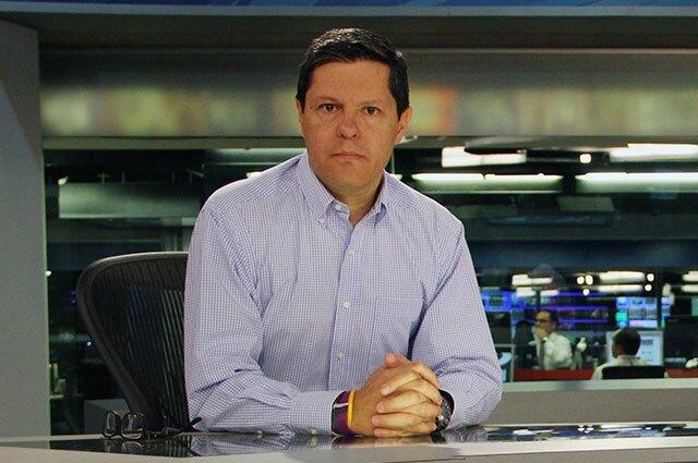 Juan Roberto Vargas, director de Noticias Caracol.