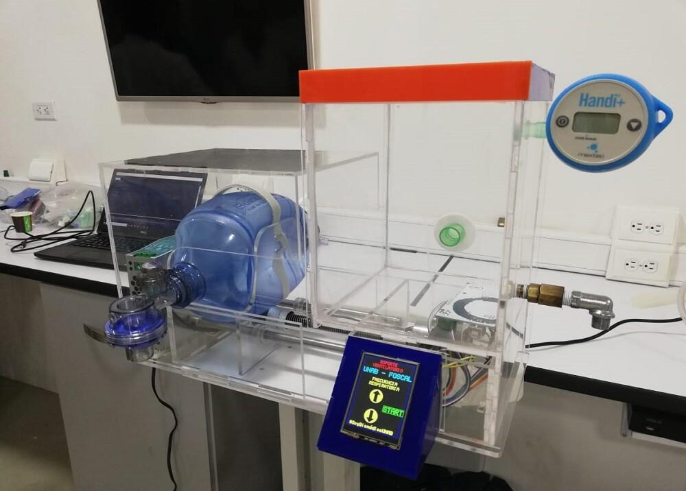 359227_BLU Radio. Prototipo Respirador Foscal- Unab / Foto:Suministrada