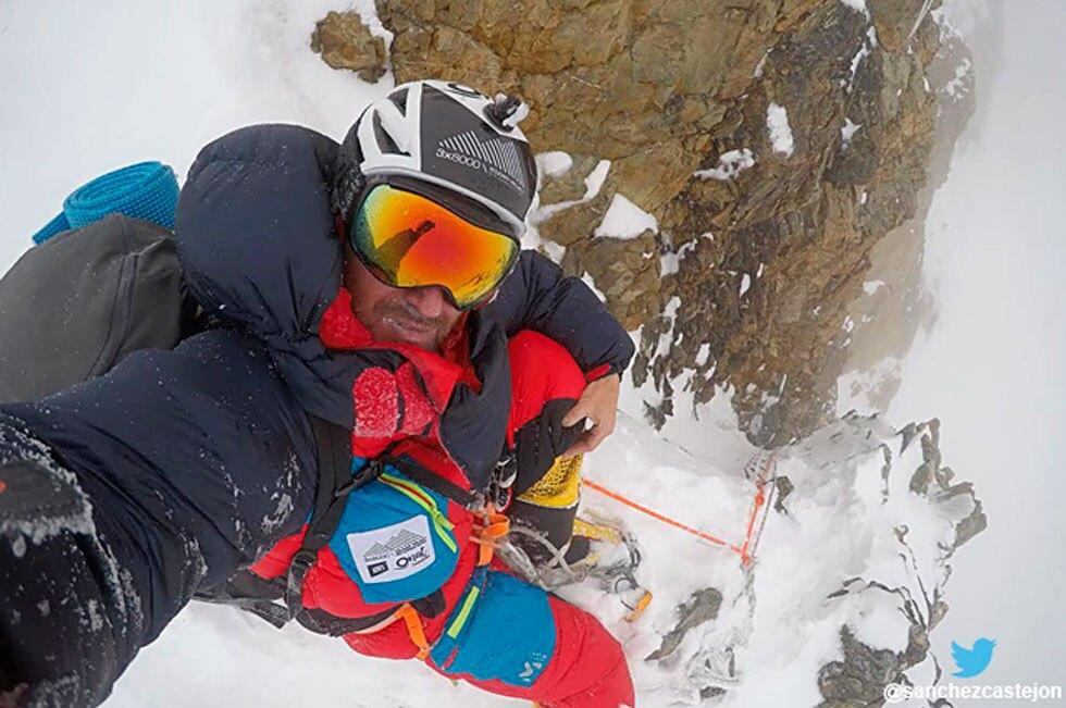 Alpinista Sergi Mingote