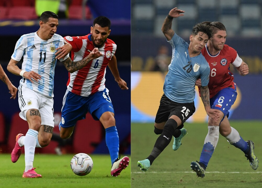 Argentina Paraguay Uruguay Chile AFP.