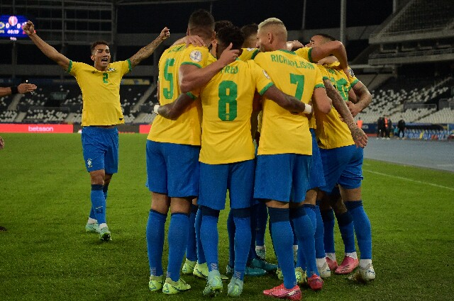 Clasificación de la Selección de Brasil