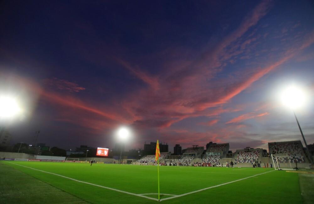 Estadio Romelio Martínez aFP.