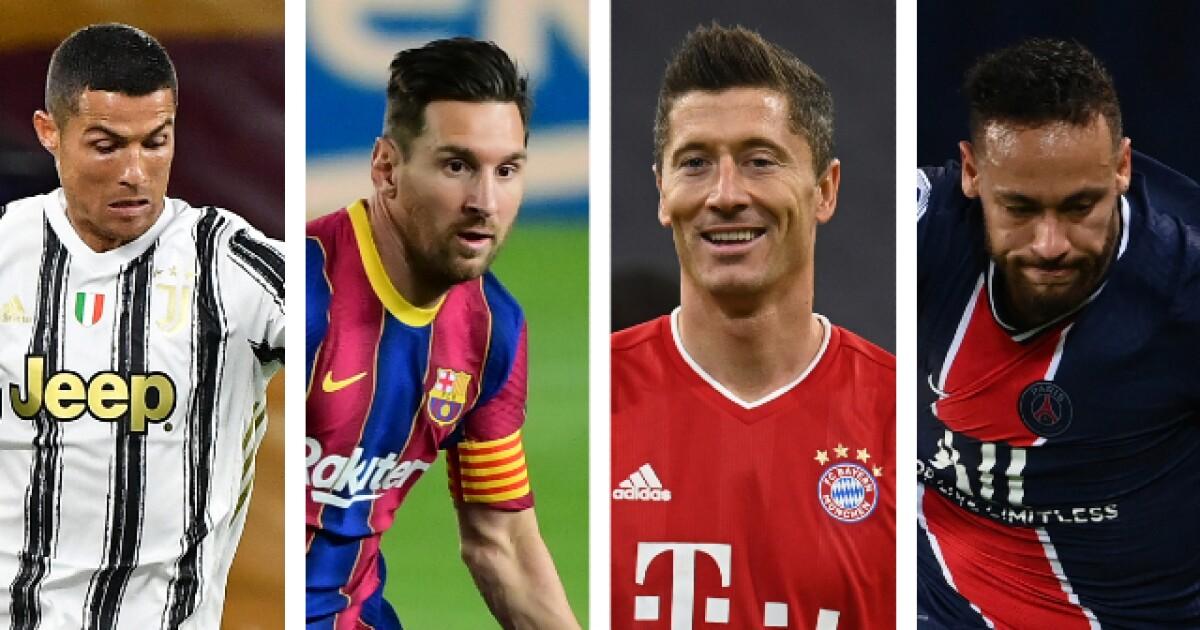 Champions League: acá las figuras de todos los equipos que estarán en la fase de grupos