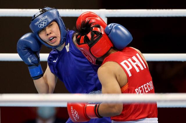 Sena Irie, en los Juegos Olímpicos de Tokio 2020