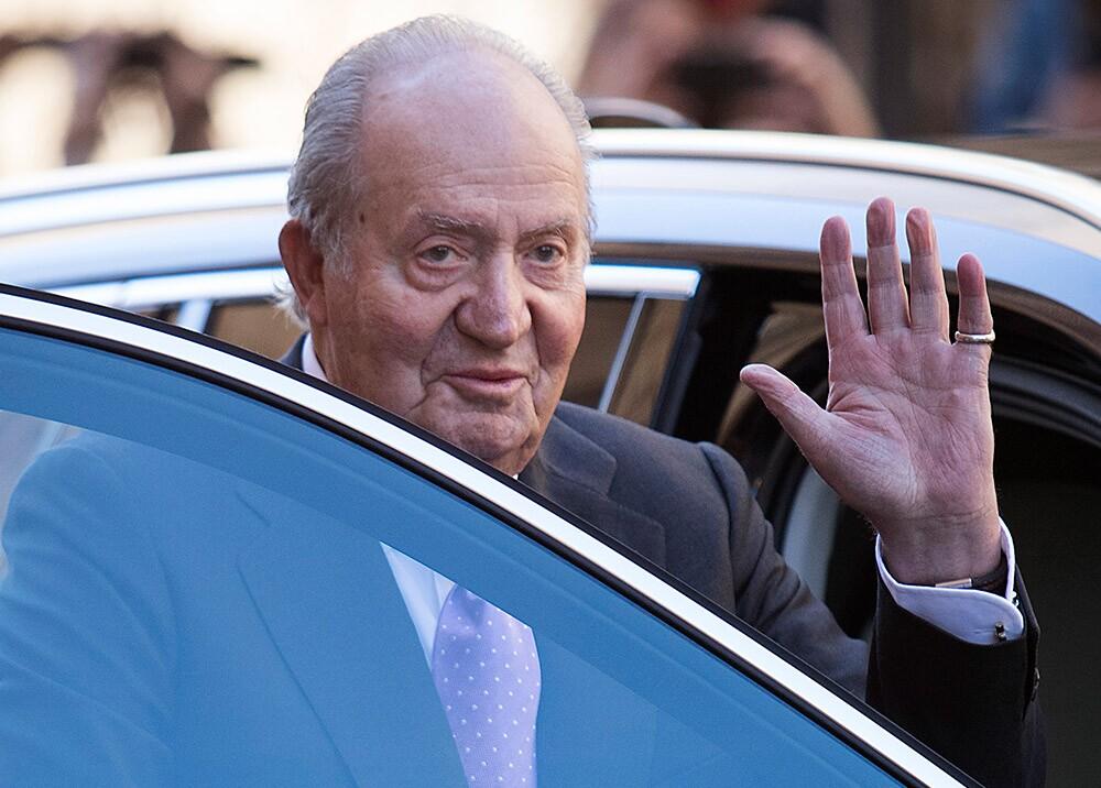 373272_Rey emérito Juan Carlos I de España // Foto: AFP