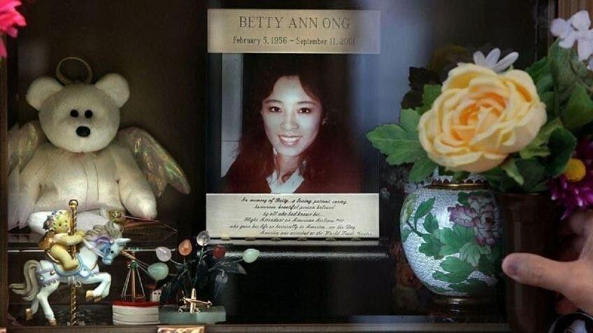 Betty Ong, azafata.