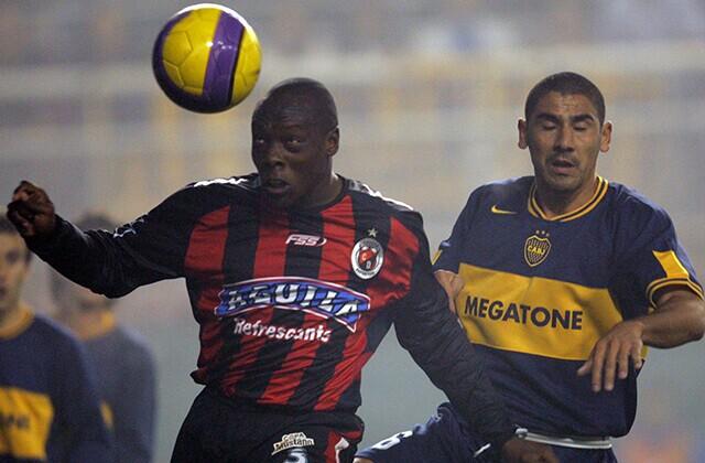 338428_Acción de juego del Boca Juniors vs. Cúcuta Deportivo