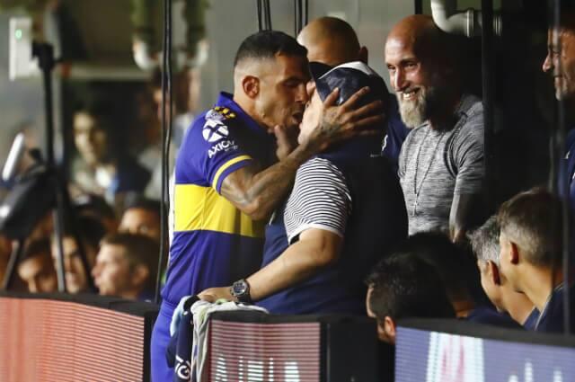 332366_Carlos Tévez y Diego Maradona